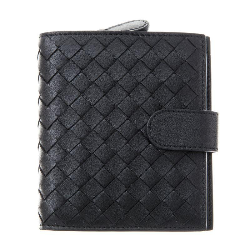 ボッテガヴェネタ 二つ折り財布 BOTTEGA VENETA 121059 V001N 1000 誕生日 ブランド プレゼントにも 高級 20代 30代 40代 50代 60代 あす楽 送料無料 返品OK