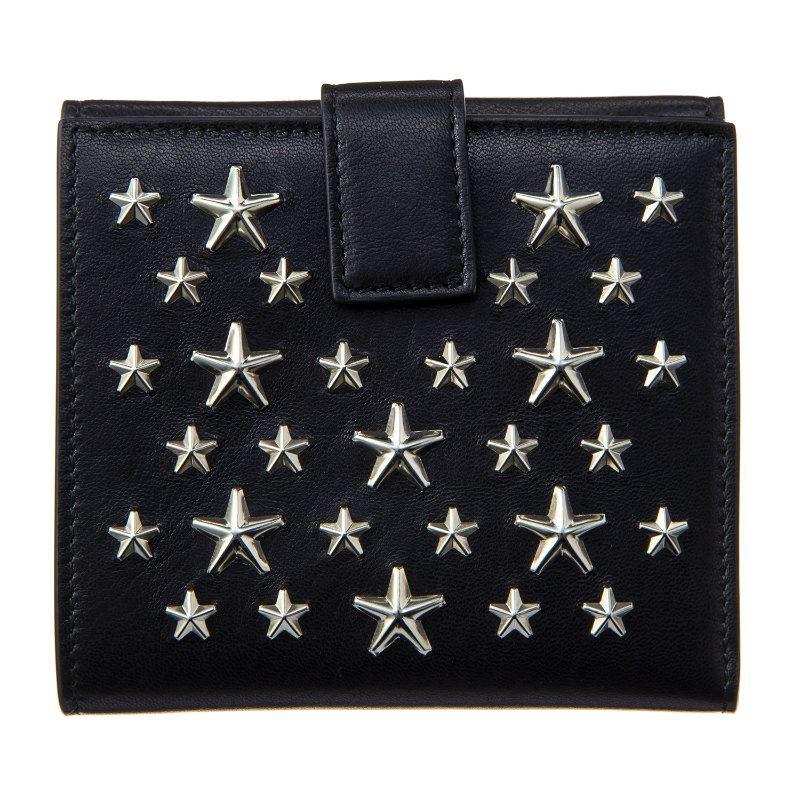 ジミーチュウ 財布 メンズ レディース ブラック JIMMY CHOO FRIDA CST BLACK ブラック 誕生日 ブランド かっこいい 父の日 プレゼントにも 高級 20代 30代 40代 50代 60代 あす楽 送料無料 返品OK