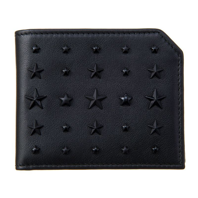 ジミーチュウ 財布 メンズ レディース ブラック JIMMY CHOO ALBANY LXA BLACK ブラック 誕生日 ブランド かっこいい 父の日 プレゼントにも 高級 20代 30代 40代 50代 60代 あす楽 送料無料 返品OK