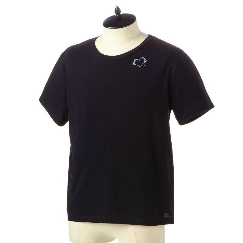 サンローラン Tシャツ メンズ SAINT LAURENT 557491 YBAQ2 1095 NOIR-NATUREL 誕生日 ブランド かっこいい 父の日 プレゼントにも 高級 20代 30代 40代 50代 60代 あす楽 送料無料 返品OK