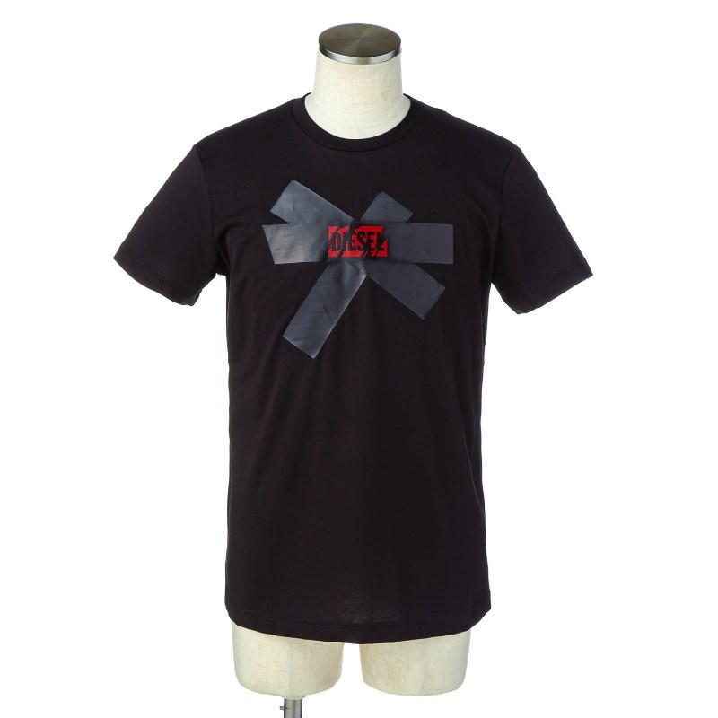 【キャッシュレスで5%還元】ディーゼル DIESEL Tシャツ 00SD4Y 0EADQ 900 メンズ new