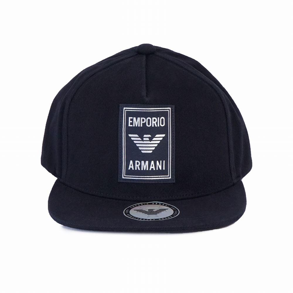 エンポリオアルマーニ EMPORIO ARMANI キャップ メンズ帽子 627540 9A562 00035 ネイビー メンズ 誕生日 ブランド かっこいい 父の日 プレゼントにも 高級 20代 30代 40代 50代 60代 あす楽 送料無料 返品OK