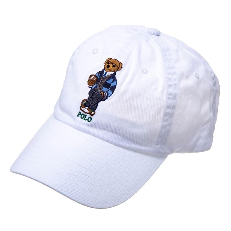 ラルフローレン キャップ 帽子 ホワイト RALPH LAUREN 710780290001 誕生日 ブランド プレゼントにも 高級 20代 30代 40代 50代 60代 あす楽 新入荷