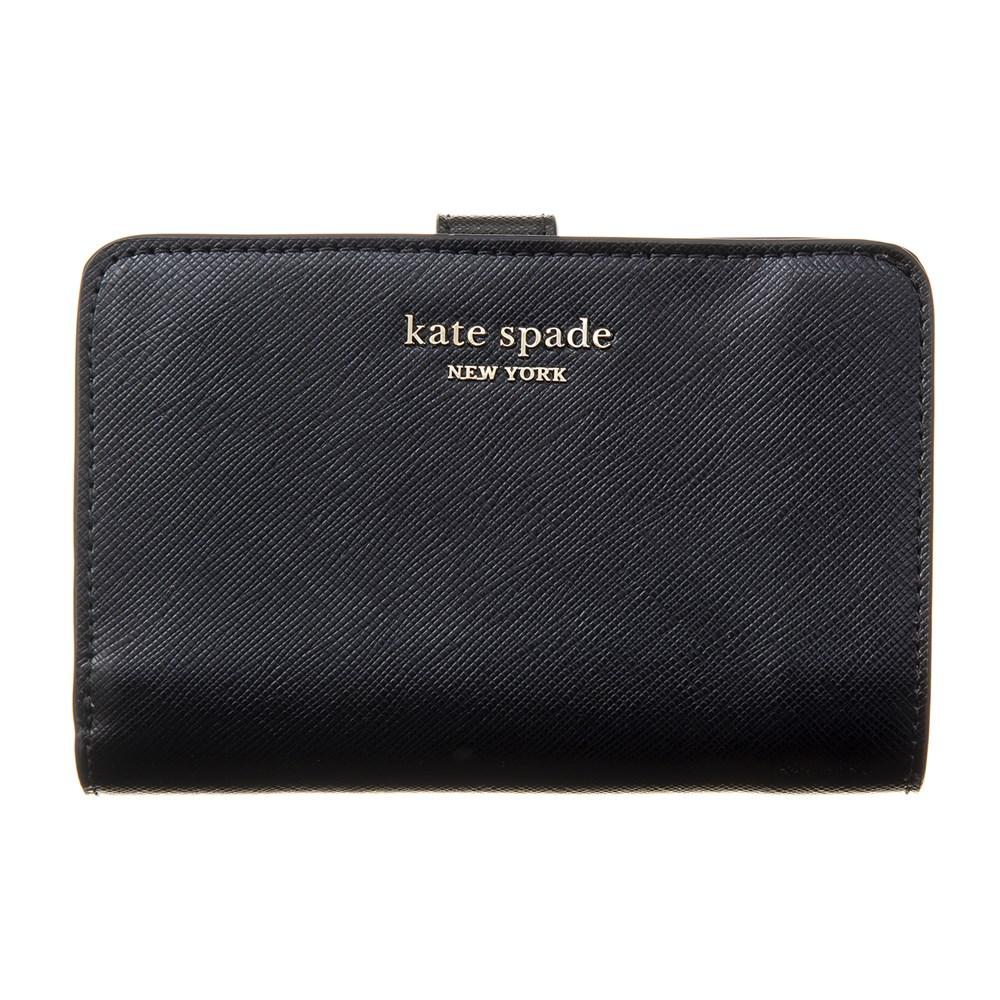 ケイトスペード 折財布 財布 ブラック レディース KATE SPADE PWRU7846 001 誕生日 ブランド プレゼントにも 高級 20代 30代 40代 50代 60代 あす楽 新入荷
