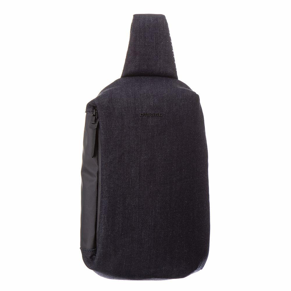 ディーゼル メンズ ボディバッグ ブラック DIESEL X05884 PR413 H6488 カジュアル かっこいい 高級 誕生日 プレゼント