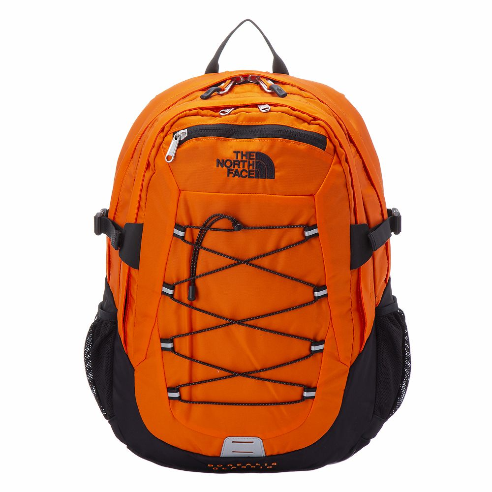 ノースフェイス メンズ リュック バックパック オレンジ THE NORTH FACE T0CF9C 3LZ かっこいい 高級 丈夫 軽量 アウトドア 大容量 おしゃれ 通勤 通学 誕生日 プレゼント