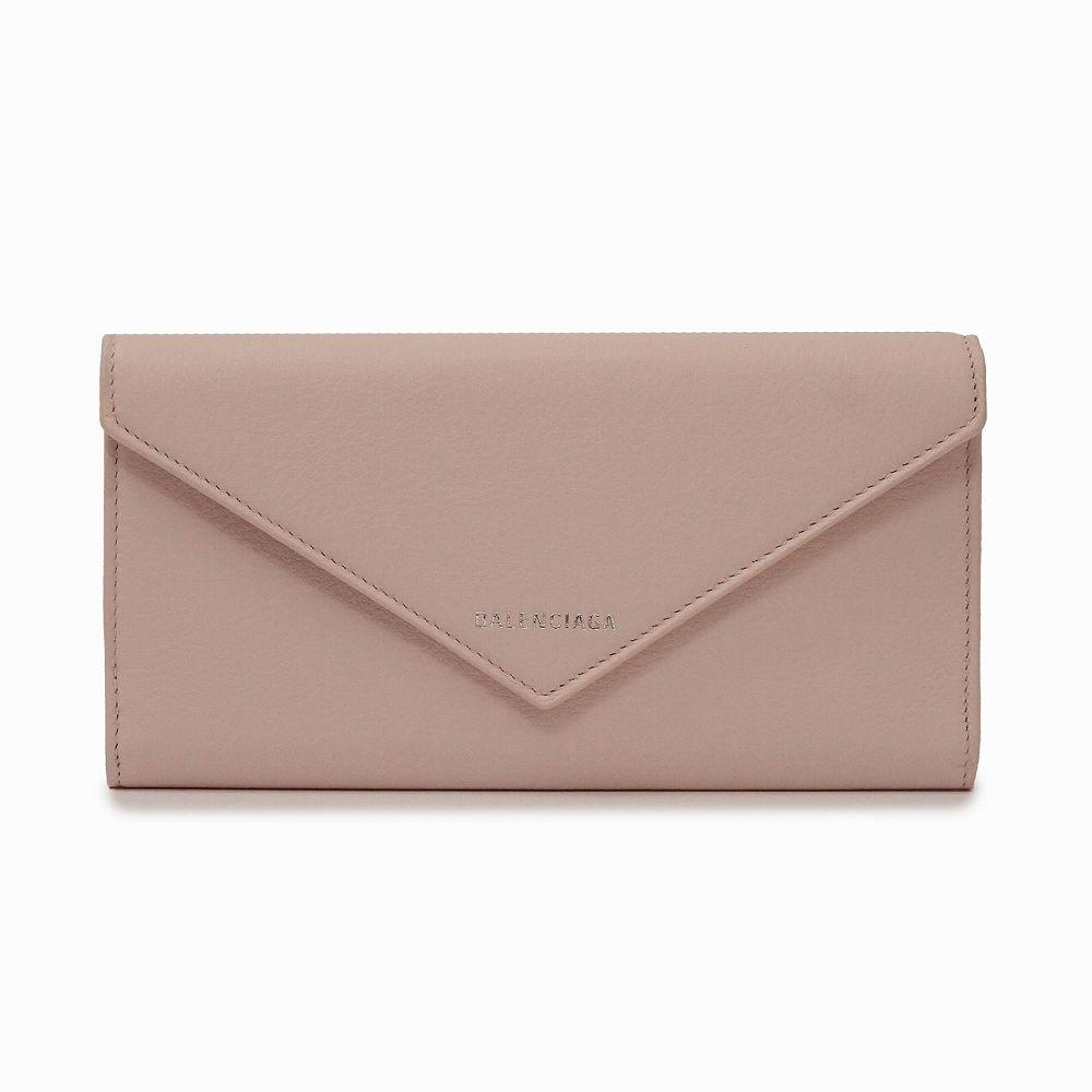 バレンシアガ レディース 長財布 ピンク BALENCIAGA 499207 DLQ0N 5901 高級 おしゃれ 誕生日 プレゼント