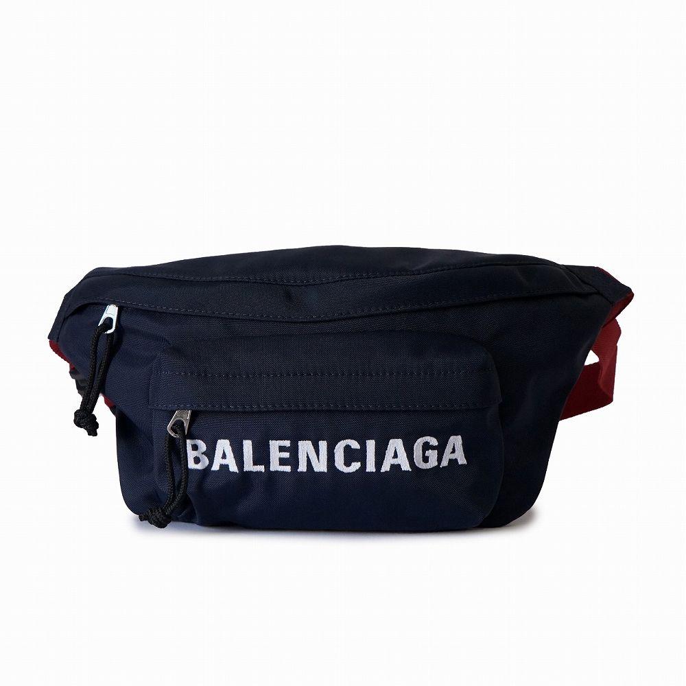 バレンシアガ メンズ レディース ベルトバッグ ネイビー BALENCIAGA 533009 HPG1X 4370 高級 おしゃれ 誕生日 プレゼント