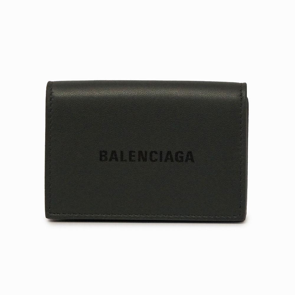 バレンシアガ レディース ミニ財布 ブラック BALENCIAGA 594312 1I313 1360 高級 おしゃれ 誕生日 プレゼント