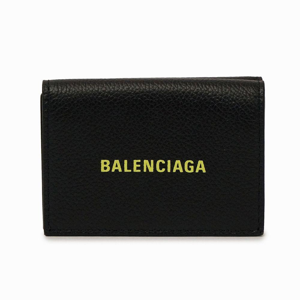バレンシアガ レディース ミニ財布 ブラック BALENCIAGA 594312 1IZF3 1072 高級 おしゃれ 誕生日 プレゼント