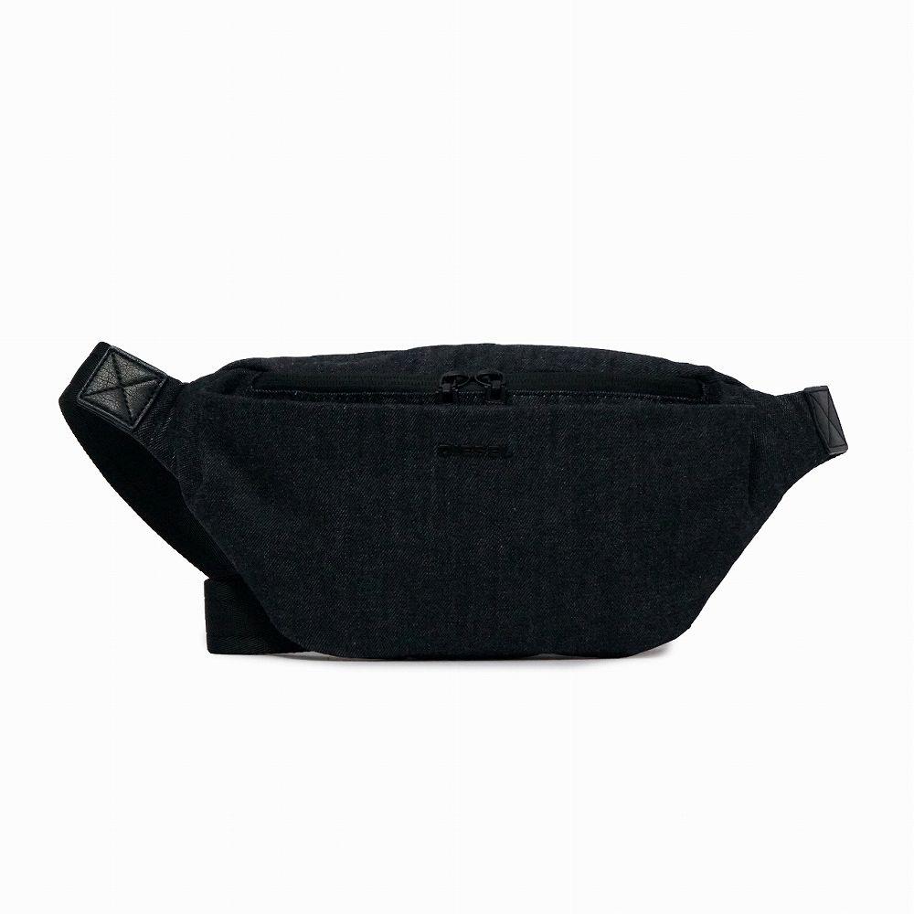 ディーゼル メンズ ベルトバッグ ブラック DIESEL X06342 PR413 H6488 カジュアル かっこいい 高級 誕生日 プレゼント
