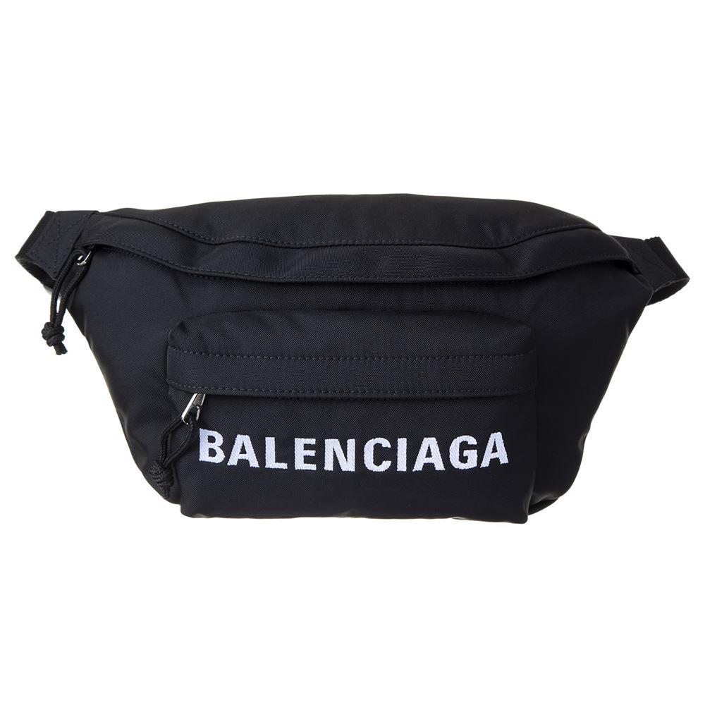 バレンシアガ メンズ ボディバッグ BALENCIAGA 533009 HPG1X 1070 ブラック ブランド 大人 ブランド かっこいい 大容量 シンプル 誕生日 プレゼント 送料無料