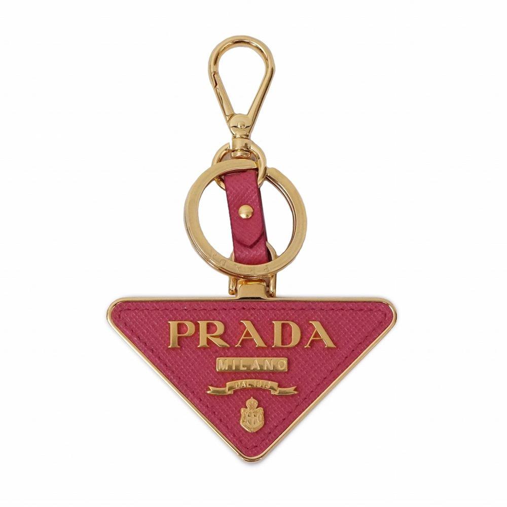 プラダ メンズ レディース キーリング PRADA 1TL380 2EWR F0505 レッド/ゴールド 鍵 レディース ブランド 誕生日 プレゼント 送料無料