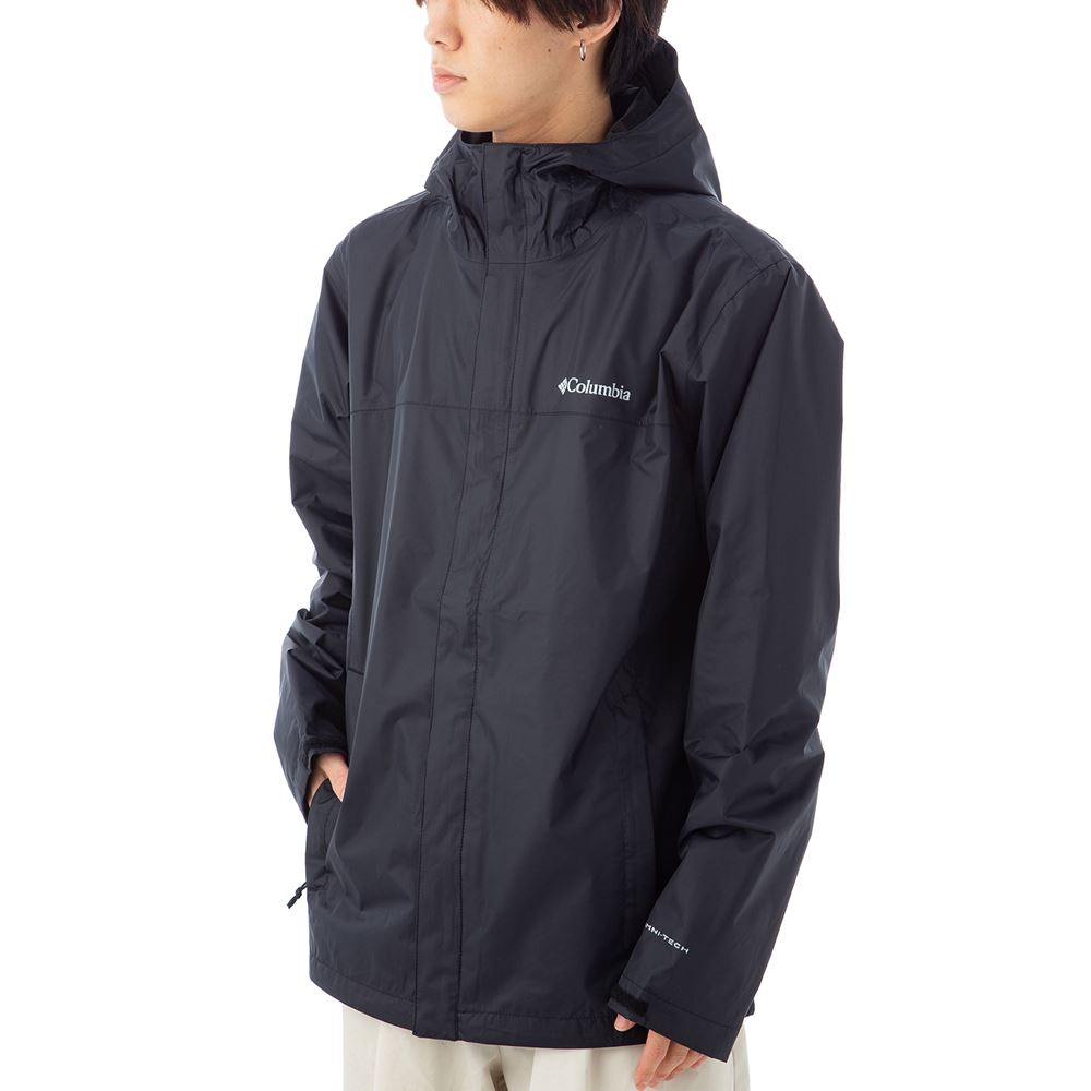 コロンビア メンズ マウンテンパーカー COLUMBIA 1533891 10 ブラック 薄手 ジャケット ブランド アウトドア マウンテンパーカー トレッキング 山登り アウトドア キャンプ 誕生日 プレゼント 送料無料