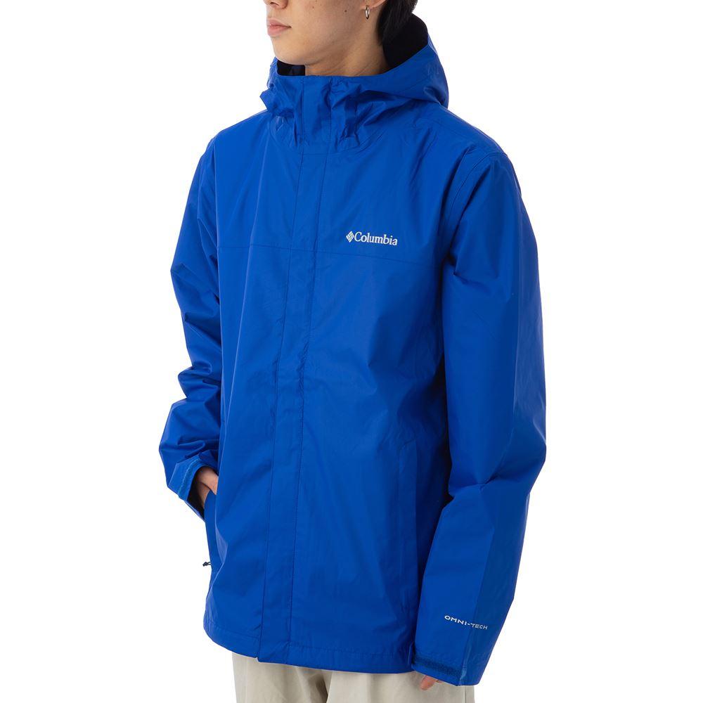 コロンビア メンズ マウンテンパーカー COLUMBIA 1533891 437 ブルー 薄手 ジャケット ブランド アウトドア マウンテンパーカー トレッキング 山登り アウトドア キャンプ 誕生日 プレゼント 送料無料