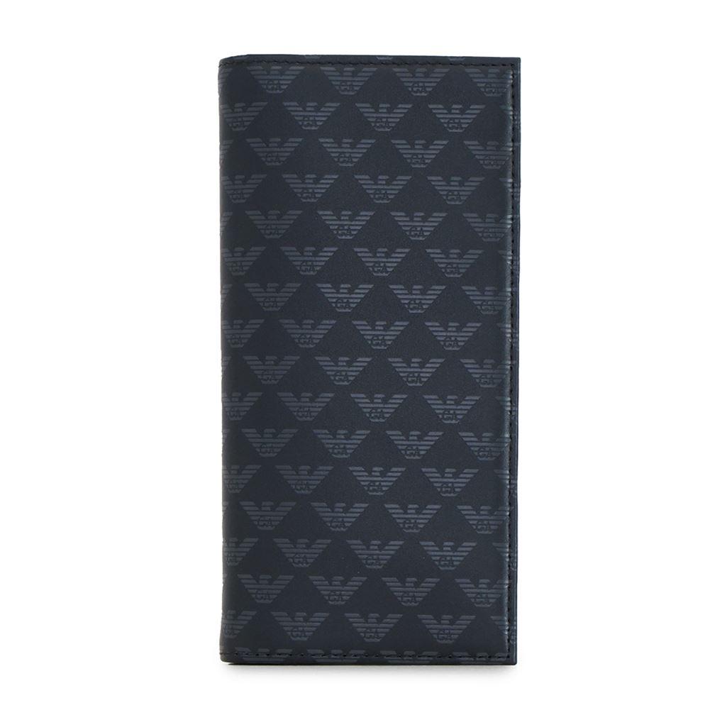 送料無料 YEM474 誕生日 新品 YTO2J ブランド ブラック プレゼント エンポリオアルマーニ 30代 メンズ 40代 ARMANI 60代 EMPORIO 長財布 50代 大容量 20代 84284