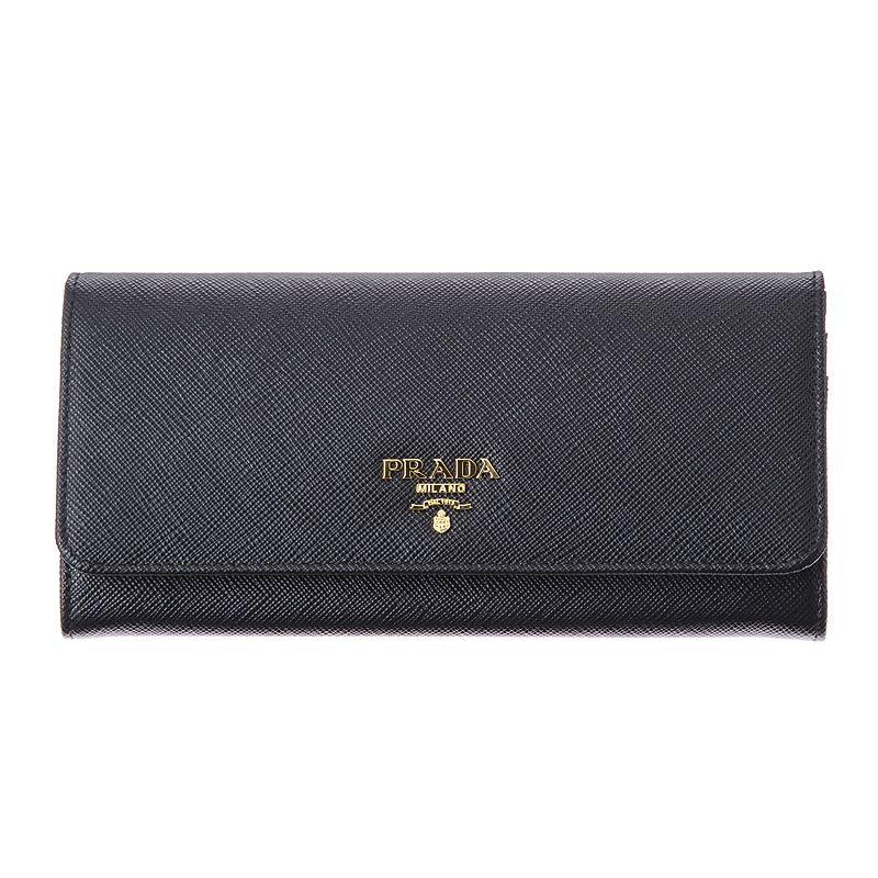 プラダ 財布 PRADA 1MH132 QWA F0002 NERO 長財布