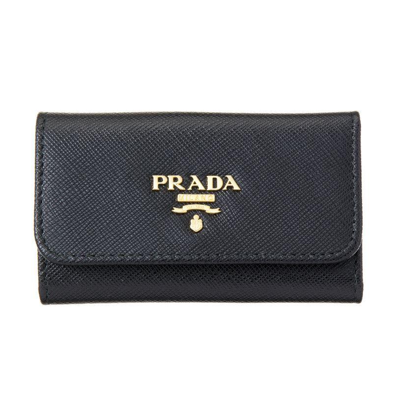 プラダ PRADA 1PG222 QWA F0002 キーケース NERO お買い物マラソンセール