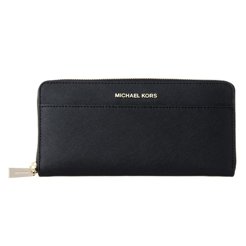 マイケルコース 財布 レディース ブラック MICHAEL KORS 32T7GTVZ3L 001 誕生日 ブランド プレゼントにも 高級 20代 30代 40代 50代 60代 あす楽 送料無料 返品OK