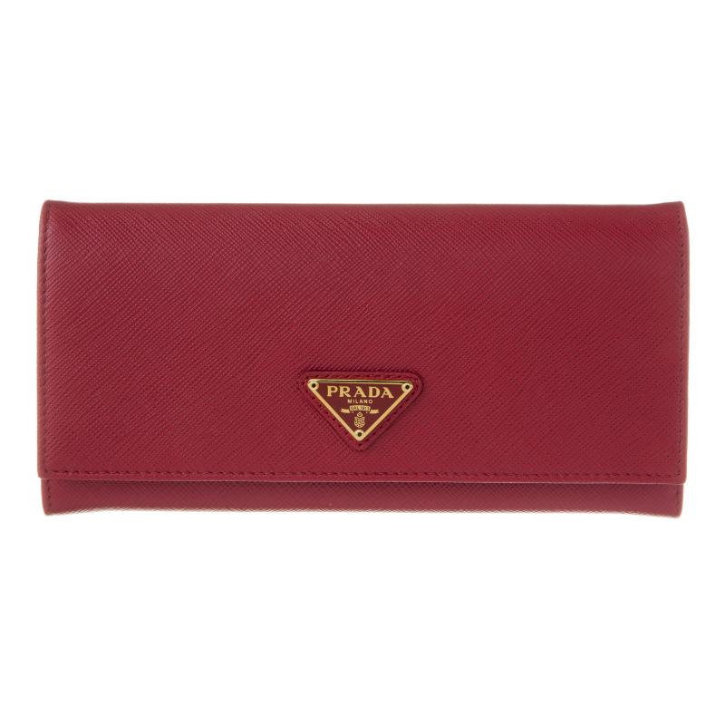 プラダ 財布 FUOCCO PRADA 1MH132 QHH F068Z 誕生日 ブランド プレゼントにも 高級 20代 30代 40代 50代 60代 あす楽 送料無料 返品OK