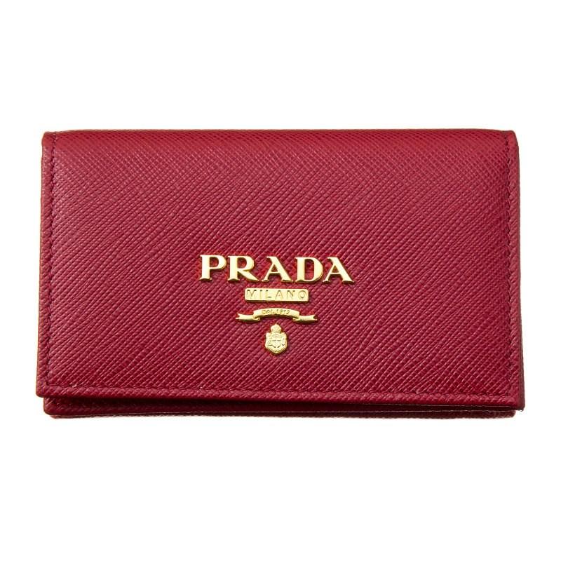 プラダ PRADA カードケース 1MC122 QWA F068Z FUOCO