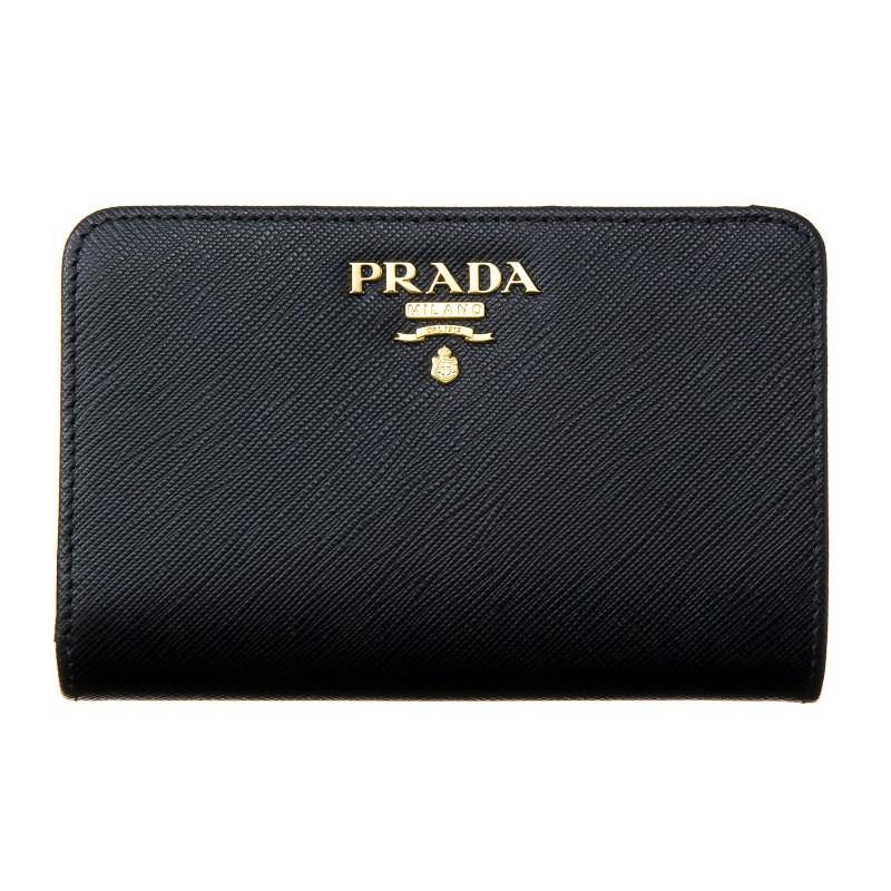 プラダ 財布 PRADA 1ML225 QWA F0002 誕生日 ブランド プレゼントにも 高級 20代 30代 40代 50代 60代 あす楽 送料無料 返品OK