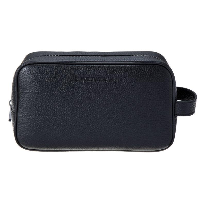 エンポリオアルマーニ バッグ セカンドバッグ メンズ ブラック EMPORIO ARMANI Y4R160 YC89J 80001 誕生日 ブランド かっこいい 父の日 プレゼントにも 高級 20代 30代 40代 50代 60代 あす楽 送料無料 返品OK
