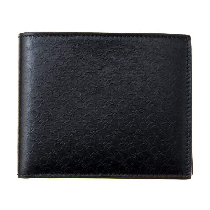 フェラガモ 財布 二つ折り財布 レディース ブラック Ferragamo 66A115 686504 誕生日 ブランド プレゼントにも 高級 20代 30代 40代 50代 60代 あす楽 送料無料 返品OK