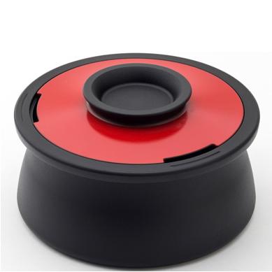 穴織カーボン アナオリカーボンポット VOL ボリュー 世界初のカーボン(炭)製・無水調理ができる鍋 両手鍋 調理用品 遠赤外線 穴織 日本製 ガス直火 IH対応 オーブン ハロゲンヒーター シンプル