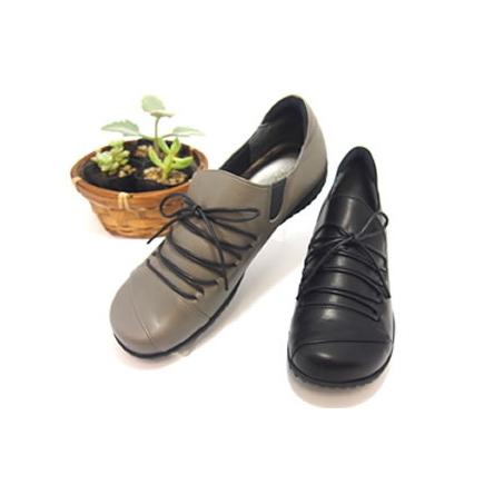 【ミスキョウコ】4E編み上げシューズ 6905 木村恭子さんの靴 サイズ 22.5cm-25.0cm 「送料無料」