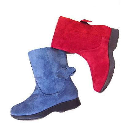 【サイズ交換対応】 ミスキョウコ【Miss Kyouko】 4E バックリボンミドルブーツ 【1486】木村恭子さんの靴 「送料無料」
