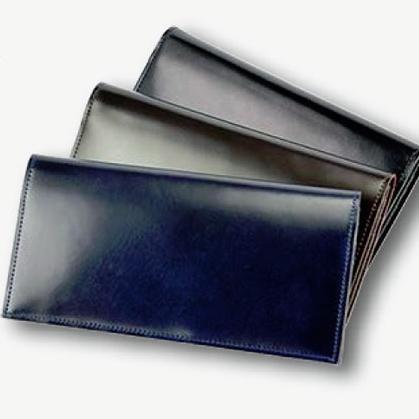 【SONNE】Kaiser(カイザー) 水染めコードバン長財布 メンズ 【ゾンネ】  【長財布】/送料無料 張る財布