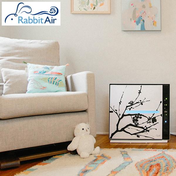 壁掛けできる 空気清浄機 【アーティスト・シリーズ】選べるパネル Rabbit Air MinusA2 hepaフィルター 花粉 グスタフ・クリムト、葛飾北斎、ナナミ・コーデュロイ