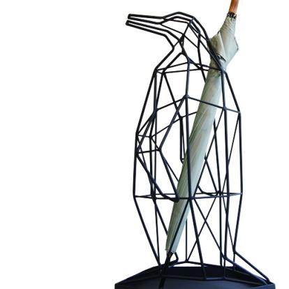 アンブレラスタンド ペンギン(傘立て) 【シャドーワイヤー】  sgw /送料無料 想いを繋ぐ百貨店【TSUNAGU】