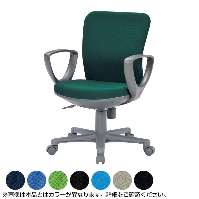 オフィスチェア/サークル肘付き・ローバックタイプ/OA-1155CJ事務椅子 オフィスチェアー 学習椅子 勉強椅子 パソコンチェアー デスクチェアー