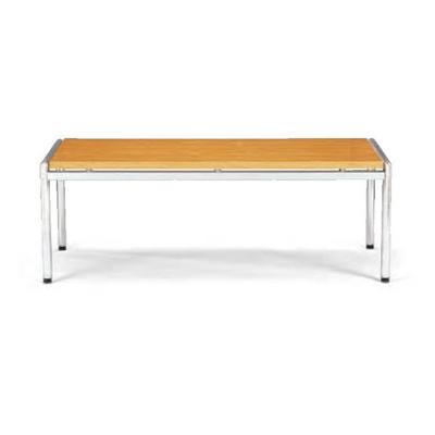 ロビーテーブル/幅1265×奥600mm/CT-600 【オーク マホガニー】 木製 応接テーブル センターテーブル 役員室 応接室 応接机 応接デスク
