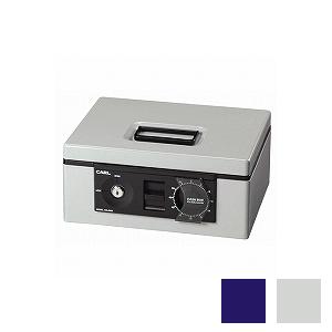 手提げ金庫 キャッシュボックス B5サイズ書類収納可能 3.0kg 鍵2個付き コイントレー付き 1台 二重ロック コインカウンター表示 カール kinko EC-CB-8660
