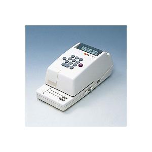 電子チェックライター コンパクトタイプ 8桁 連続印字可能 1台 マックス チェックライター 電子ライター max EC-EC-310
