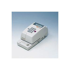 電子チェックライター コードレスタイプ(ACアダプタの使用も可) 8桁 連続印字可能 1台 マックス チェックライター 電子ライター max EC-EC-310C