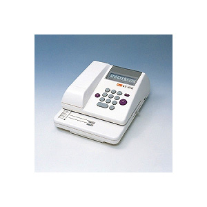 電子チェックライター スタンダードタイプ 10桁 連続印字可能 1台 マックス チェックライター 電子ライター max EC-EC-510