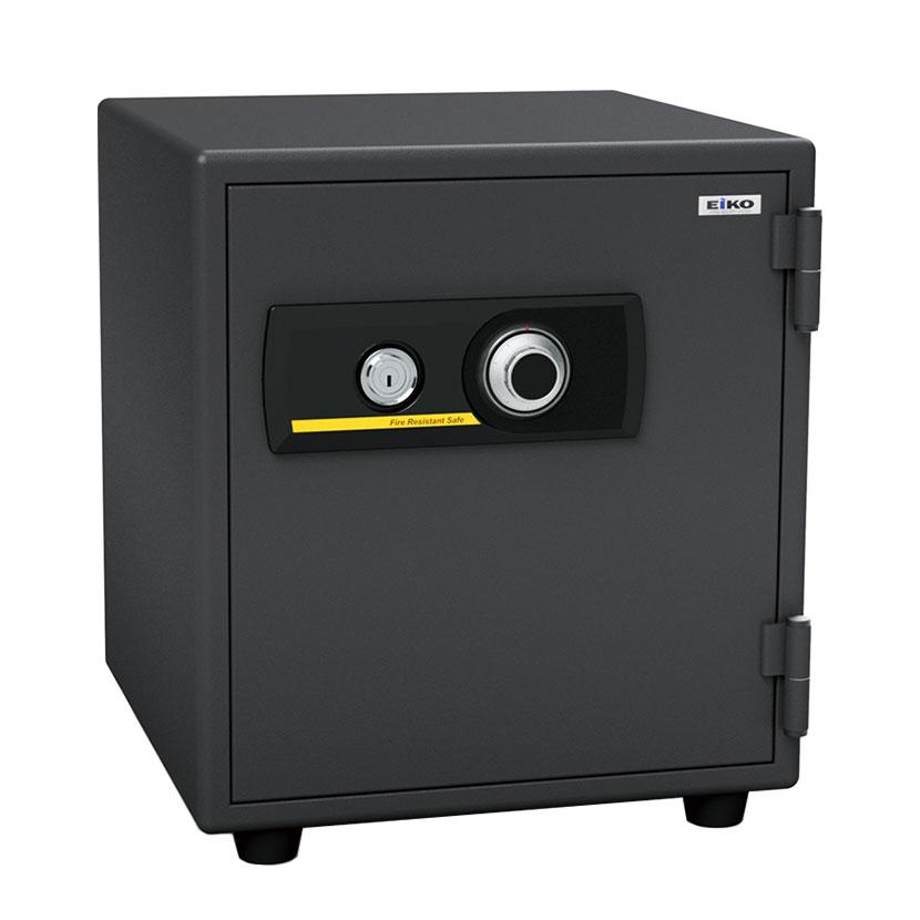【エーコー】家庭用 小型 耐火金庫 ダイヤル式 A4ファイル収納可/BES-25