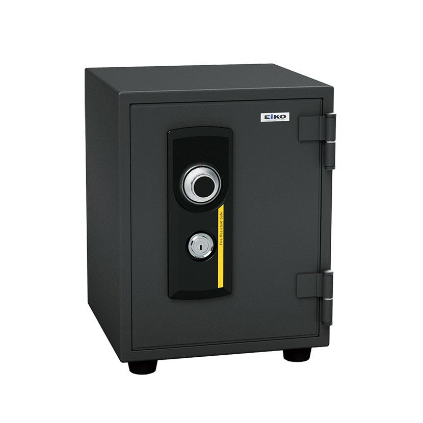 【エーコー】家庭用 小型 耐火金庫 ダイヤル式 A4用紙収納可/BES-8