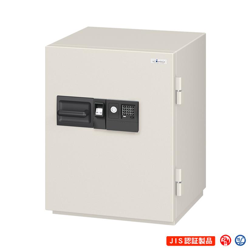 【エーコー】マルチロック式耐火金庫 内容量:56L 重量:190kg 大型 業務用/NCS-10YET