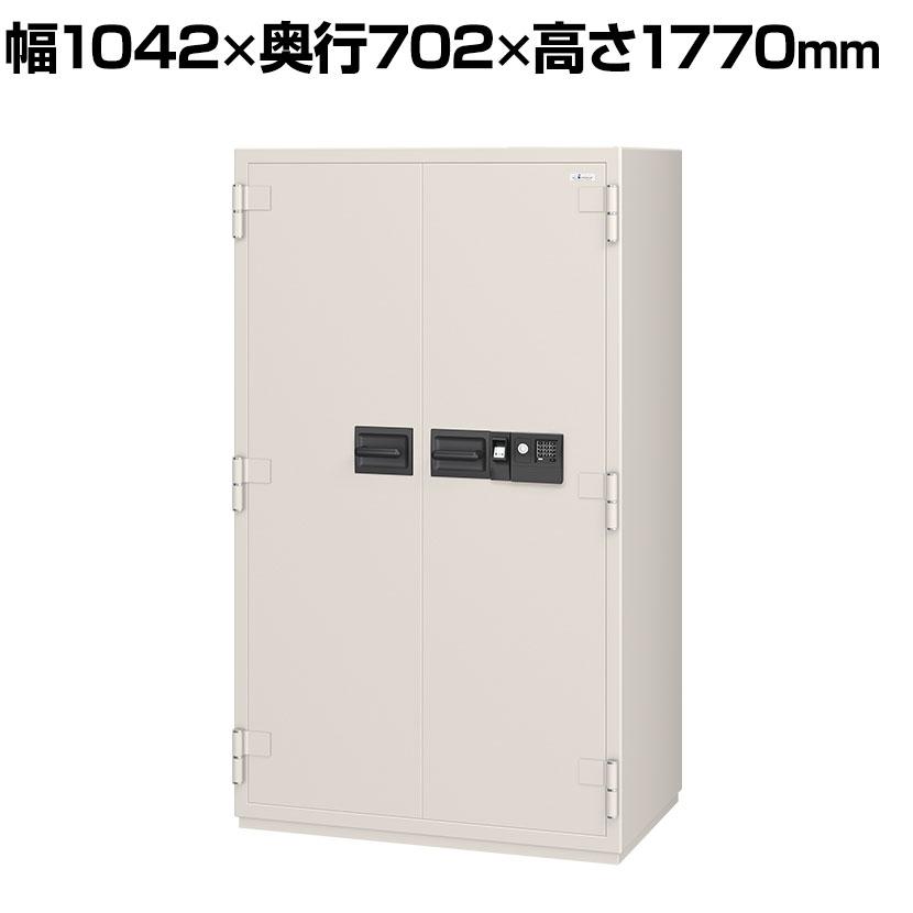 【エーコー】マルチロック式耐火金庫 内容量:620L 重量:770kg 大型 業務用/NCW-53YET