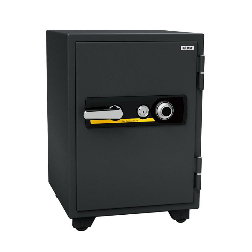 【エーコー】家庭用 耐火金庫 ダイヤル式 A4ファイル収納可 自動ロッド装置付き アラーム付き/BSD-7A