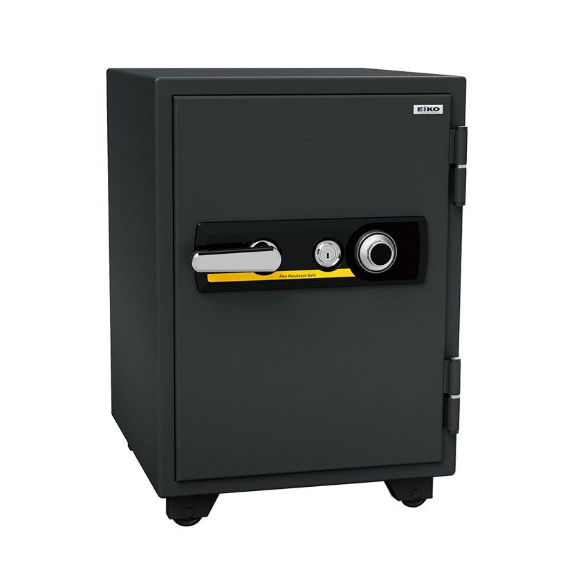 【エーコー】家庭用 耐火金庫 ダイヤル式 A4ファイル収納可 自動ロッド装置付き アラーム付き/BSD-XA