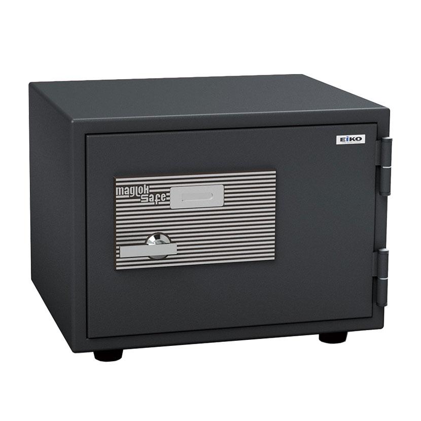 【エーコー】家庭用 小型 耐火金庫 マグロック式 A4用紙収納可 自動ロッド装置付き/BSS-4M