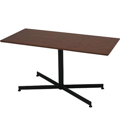 【高さ55cm】ウチカフェテーブル ソファーテーブル トラヴィ W1050×D500mm 幅100cm 幅110cm 奥行50cm ソファテーブル ダイニングテーブル 木製 店舗 リビングテーブル コーヒーテーブル