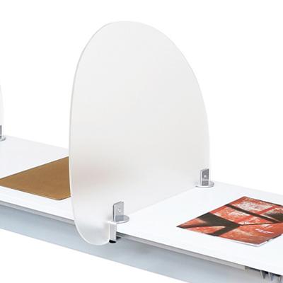 アクリル プライバシースクリーンパネル 幅571×奥行571×高さ500mm