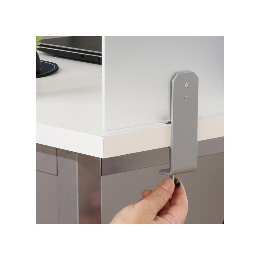Desktop Panel Acrylic D Desk Partition Width 160 Cm Of 1600 Mm For Screen Blind
